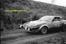 "TRIUMPH TR8  Tony Pond RAC Rally 1980 10x7"" photo"